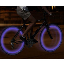 2 Pack - Motion Activated LED Valve Stem Lights - Assorted Colors