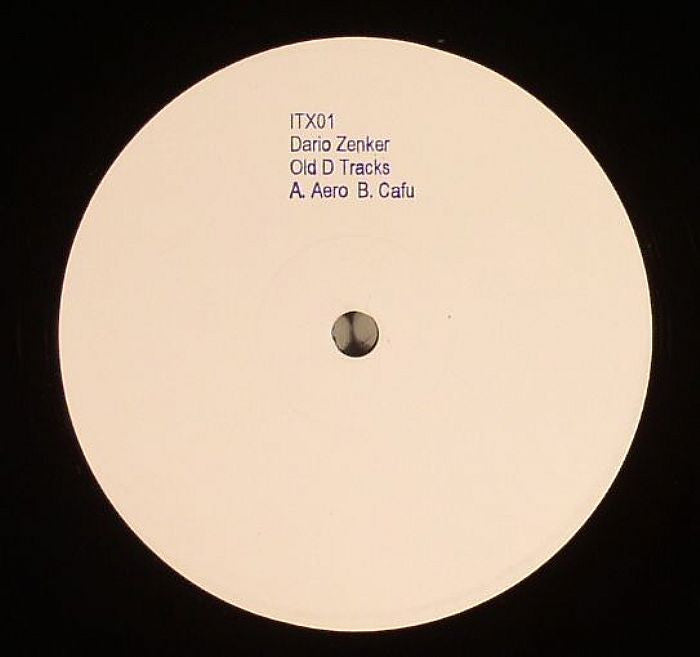 "Dario Zenker - Old D Tracks - 12"" - Ilian Tape"