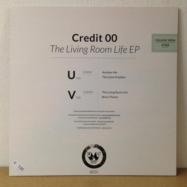 "Credit 00 - The Living Room Life EP - 12"" - Uncanny Valley"