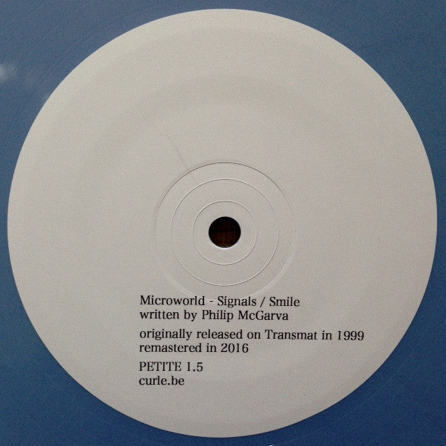 "Microworld - Signals / Smile - 12"" - Curle Petite"