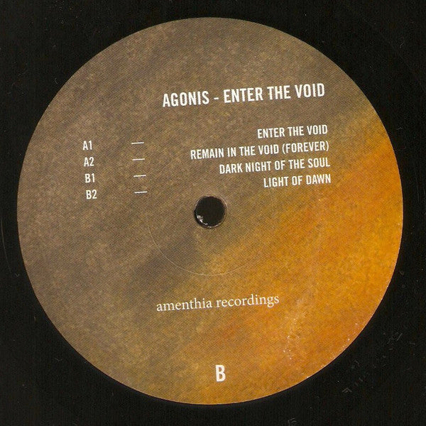 "Agonis - Enter The Void - 12"" - Amenthia"