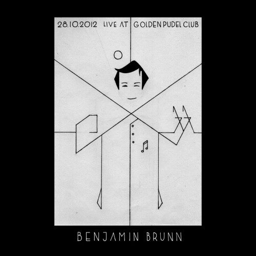 Benjamin Brunn - Live At Golden Pudel Club - CD - Pudel Produkte