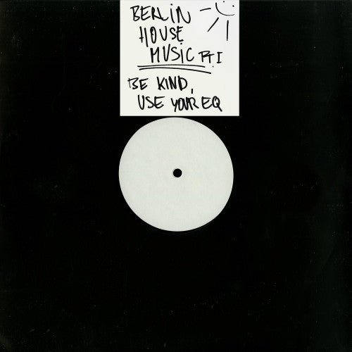 "Pablo - Berlin House Music Pt.I - 12"" - Lack"