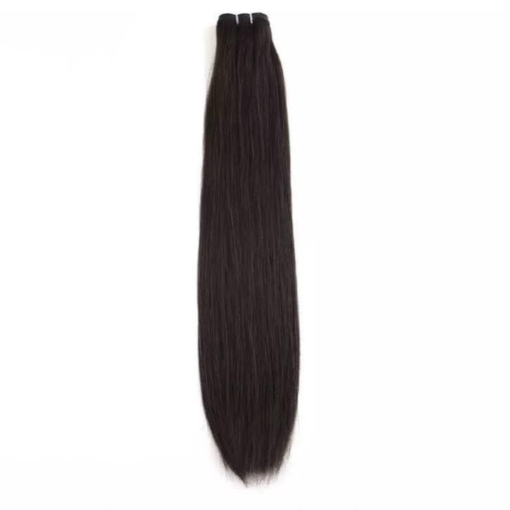 Off Black Weft Hair Extensions