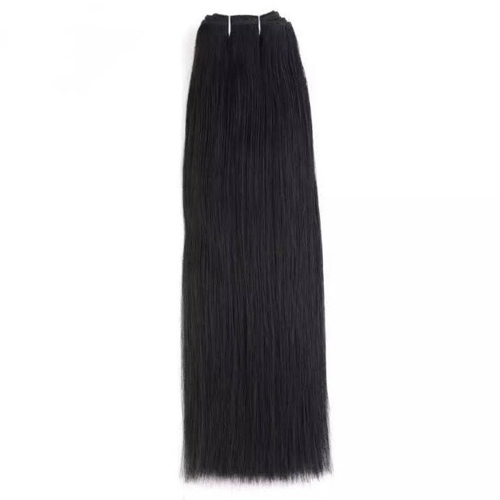 Darkest Black Weft Hair Extensions