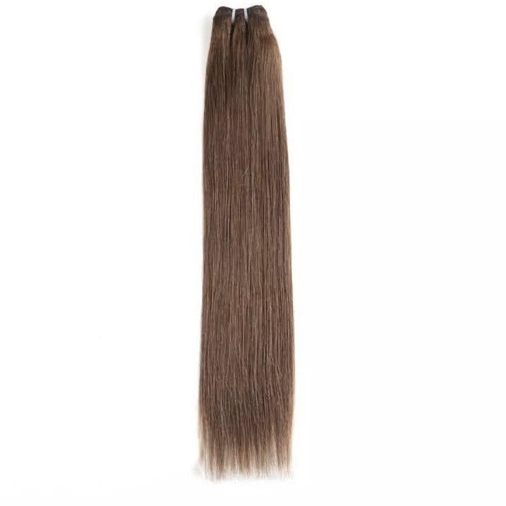 Chocolate Brown Weft Hair Extensions