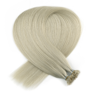 Platinum Blonde Keratin Bond Tip Hair Extensions