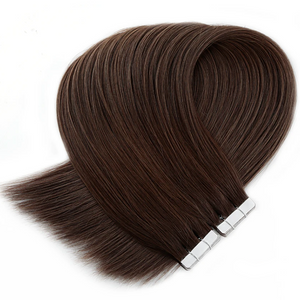 Light  Brown Tape in Hair Extensions