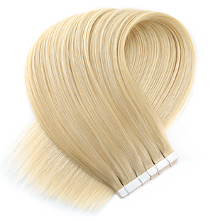 Light Golden Blonde Tape in Hair Extensions