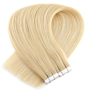 Light Blonde Tape in Hair Extensions