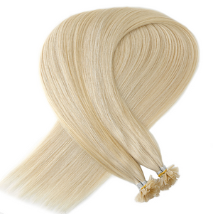 Light Ash Blonde Keratin Bond Tip Hair Extensions