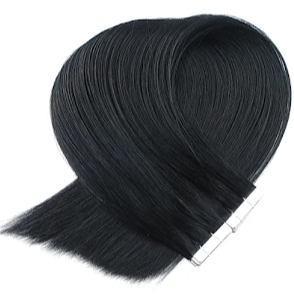 Off Black Tape in Hair Extensions