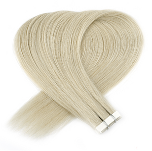 Champagne Light Blonde Tape in Hair Extensions