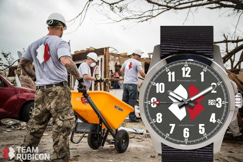 Raising funds for Disaster Recovery Charity Team Rubicon