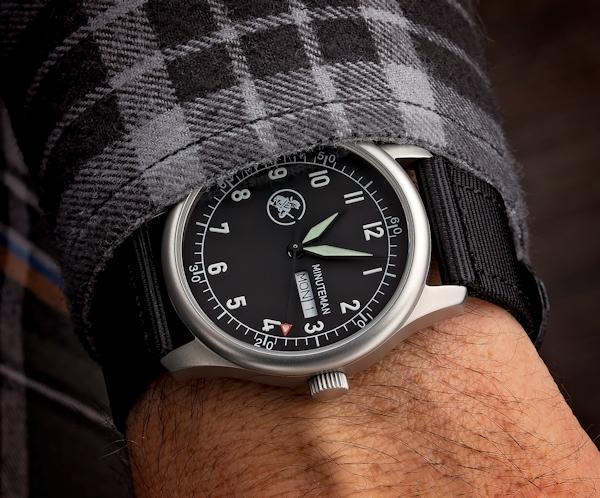 Minuteman Watches Sets Sights on Homes For Our Troops