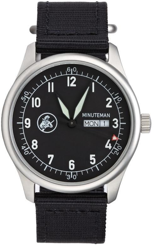 Minuteman  A11 Watch Black Dial Ameriquartz USA Movt. (Pre-Order) - The CGA Company