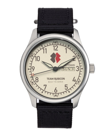 Minuteman Team Rubicon A11 Watch White Dial Ameriquartz USA Movt (Pre-Order),minutemanwatches,Minuteman,Wrist Watch