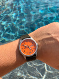 Minuteman A11 American Field Watch Orange Dial Powered by Ameriquartz