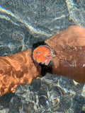 Pre-Order Minuteman A11 American Field Watch Orange Dial Powered by Ameriquartz