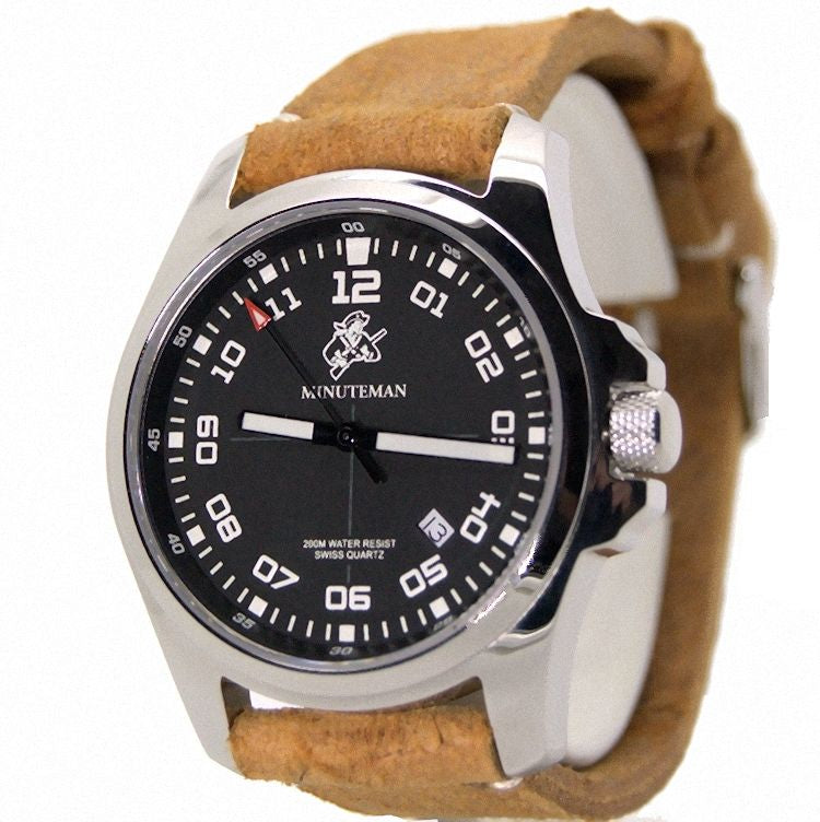 Minuteman Special Edition MM03 Watch Italian Leather Strap