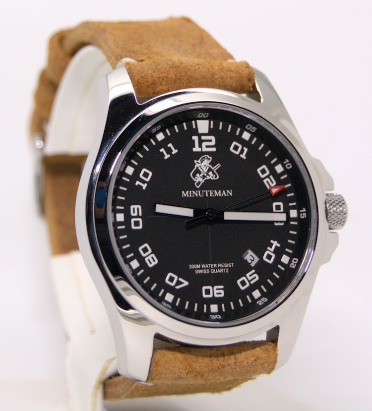 Minuteman Special Edition MM03 Watch Italian Leather Strap,minutemanwatches,Minuteman,Wrist Watch