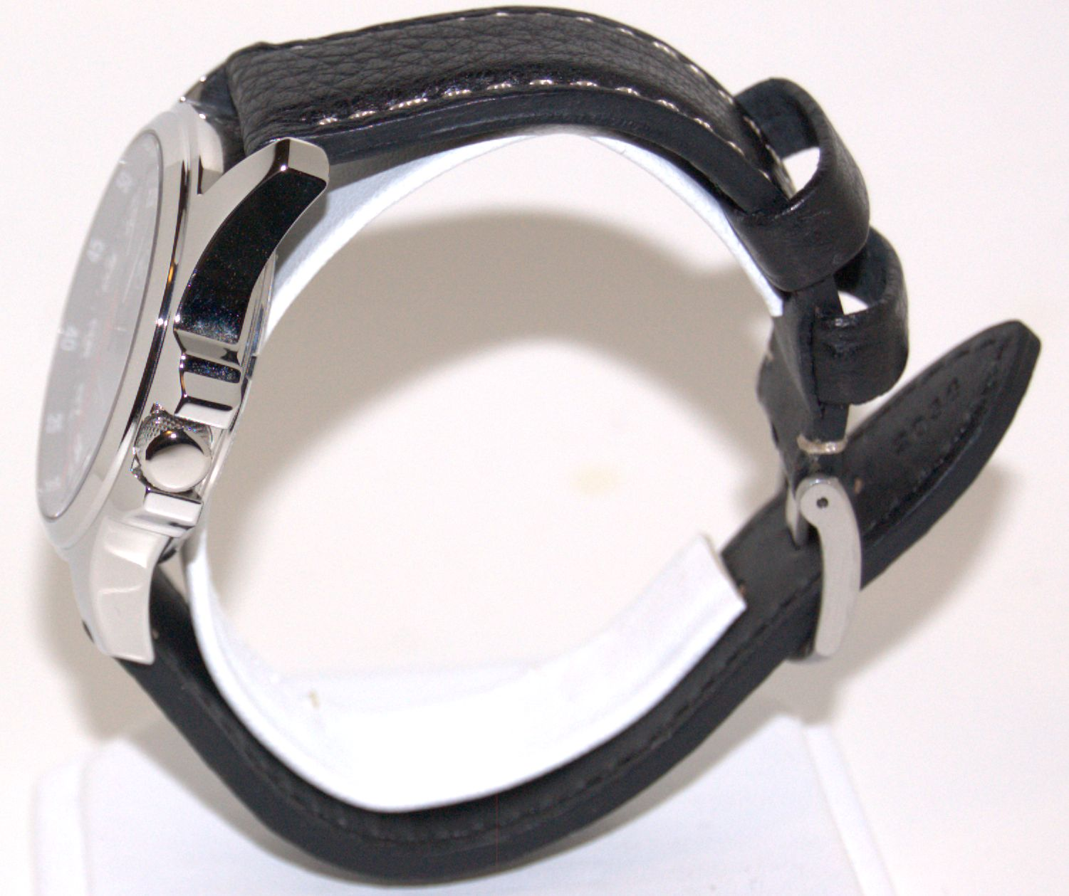 Minuteman Special Edition MM04 Watch Black Leather Strap