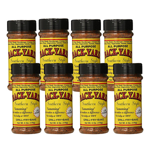BACK-YARD Southern Style Seasoning - Original (3.4 oz. Case of 8)