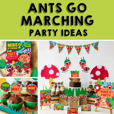 8 Ways to Help Mom Host an Adorable Ants Go Marching Party At Home