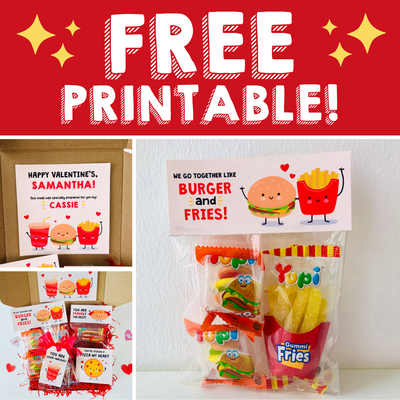 Valentine's Takeout Lunchbox, Ready for Delivery! (+FREE PRINTABLE)