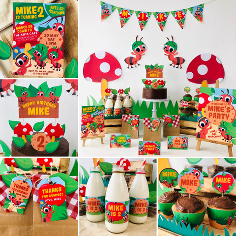 Ants go Marching Party Kit