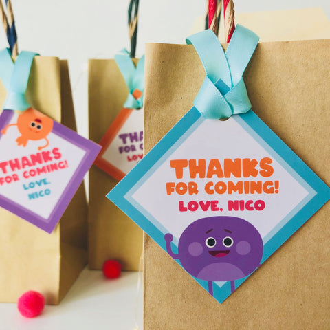 Bumble Nums Thank You Cards