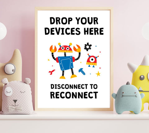 Drop Your Device Here Printable