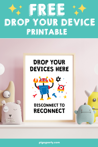 Drop Your Device Free Printables