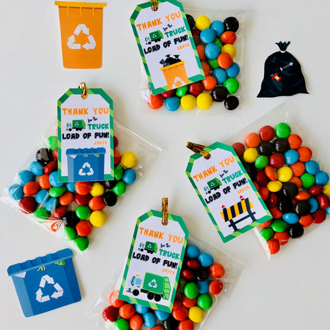 Garbage Truck Party Favors