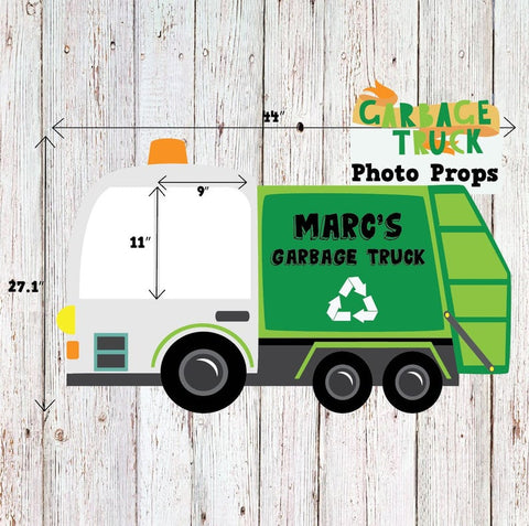 Garbage Truck Photobooth