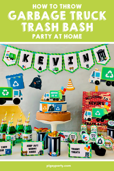 Garbage Truck Party
