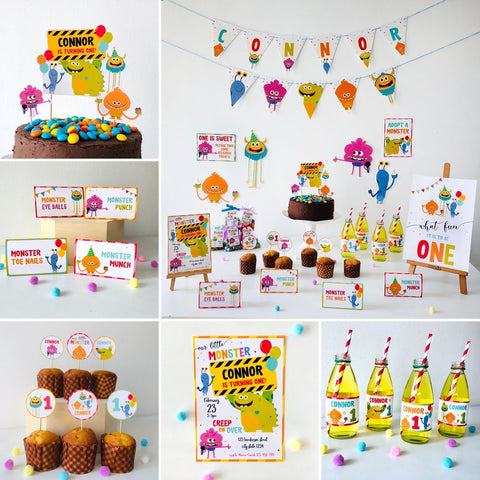 Super Simple Monsters Party Printable Kit