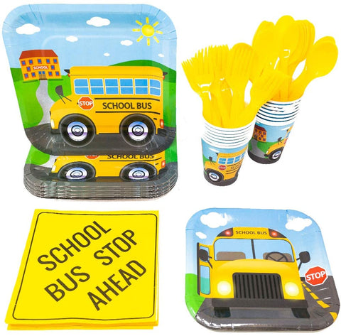Wheels on the Bus Partywares