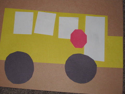 Yellow School Bus Craft