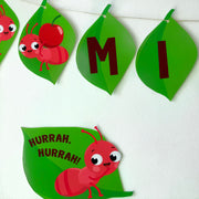 Ants go Marching Birthday Banner