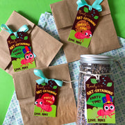 Ants go Marching Party Favor Tags