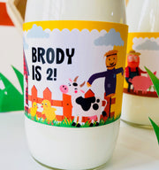 Barnyard Drinks Labels