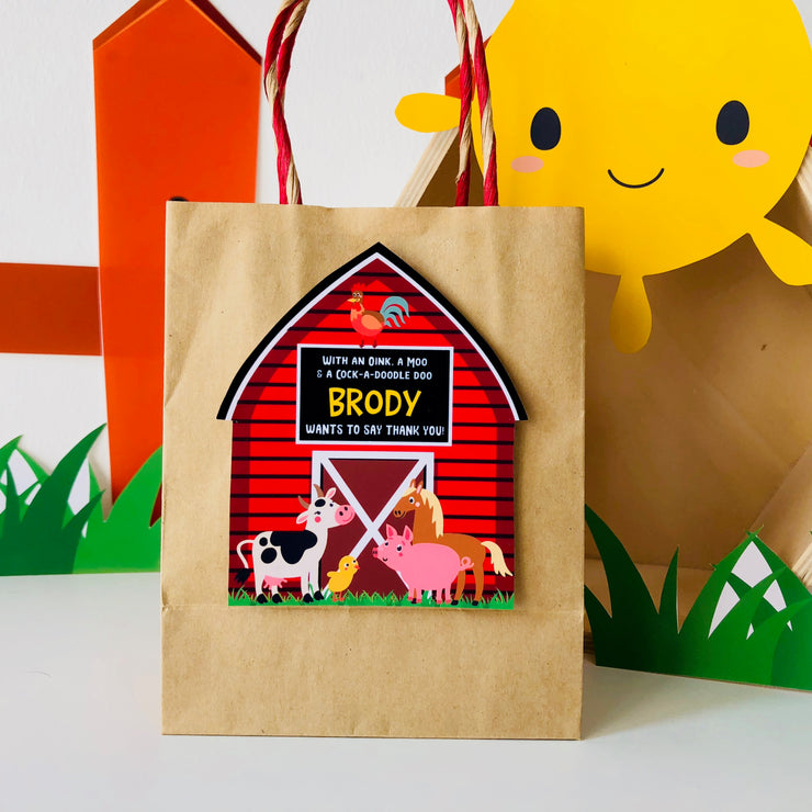 Barnyard Party Favors