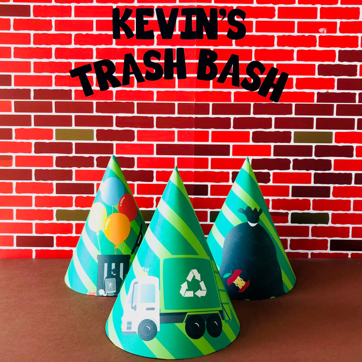 Garbage Truck Party Hats
