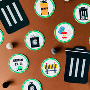 Garbage Truck Treat Tags