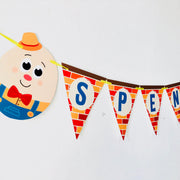 Humpty Dumpty Party Garland