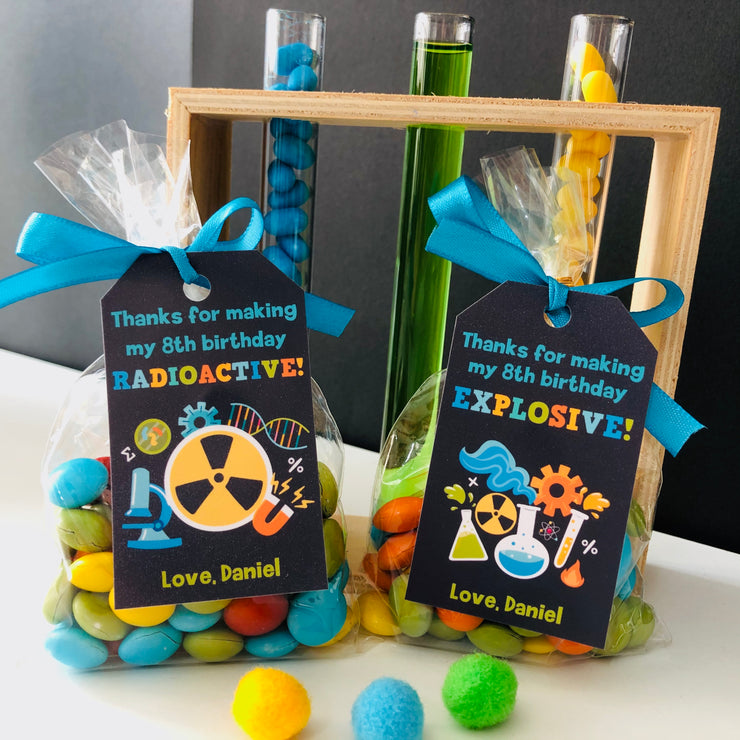 Mad Science Gift Tags