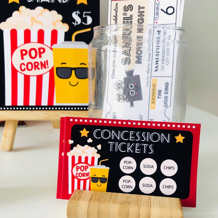 Movie Party Concession