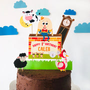 Nursery Rhyme Cake Topper