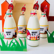 Old MacDonald Farm Bottle Stickers